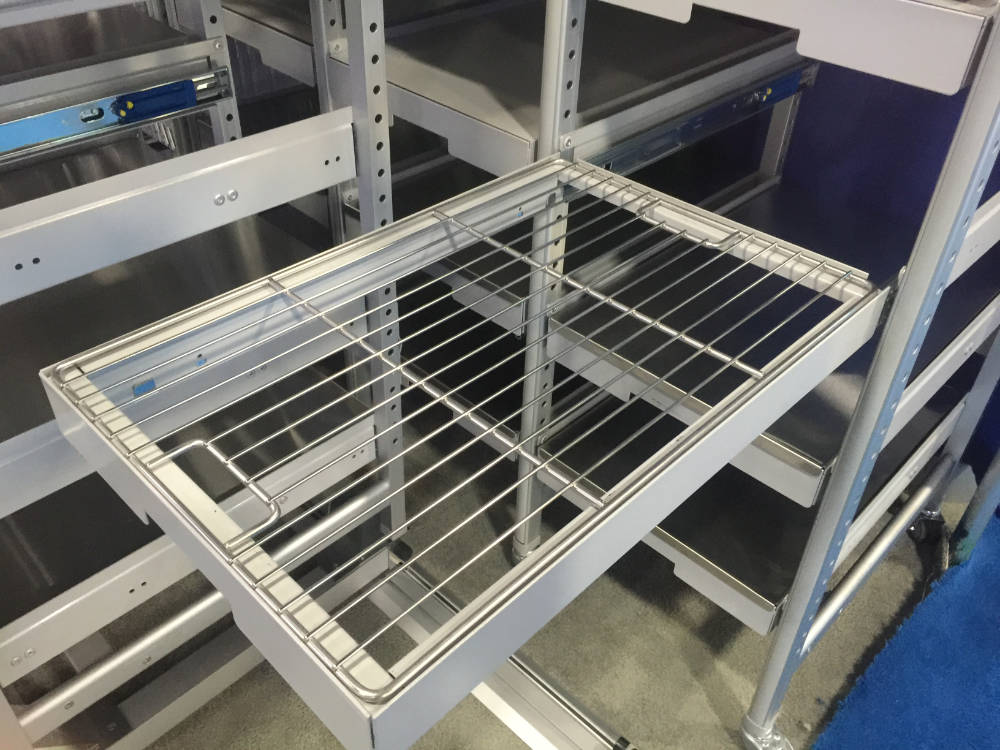 Wire Container Tray Storage CTS
