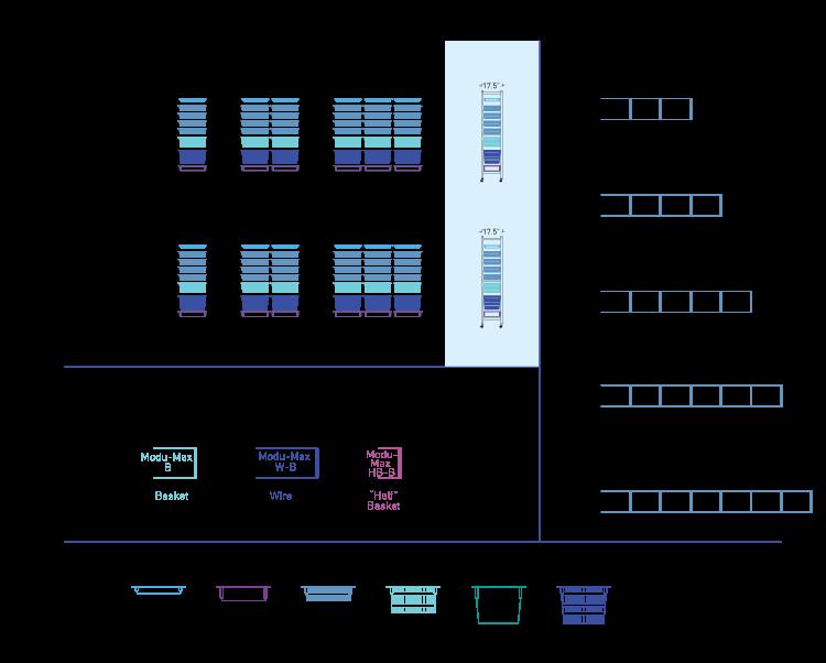 modu-max b units drawing